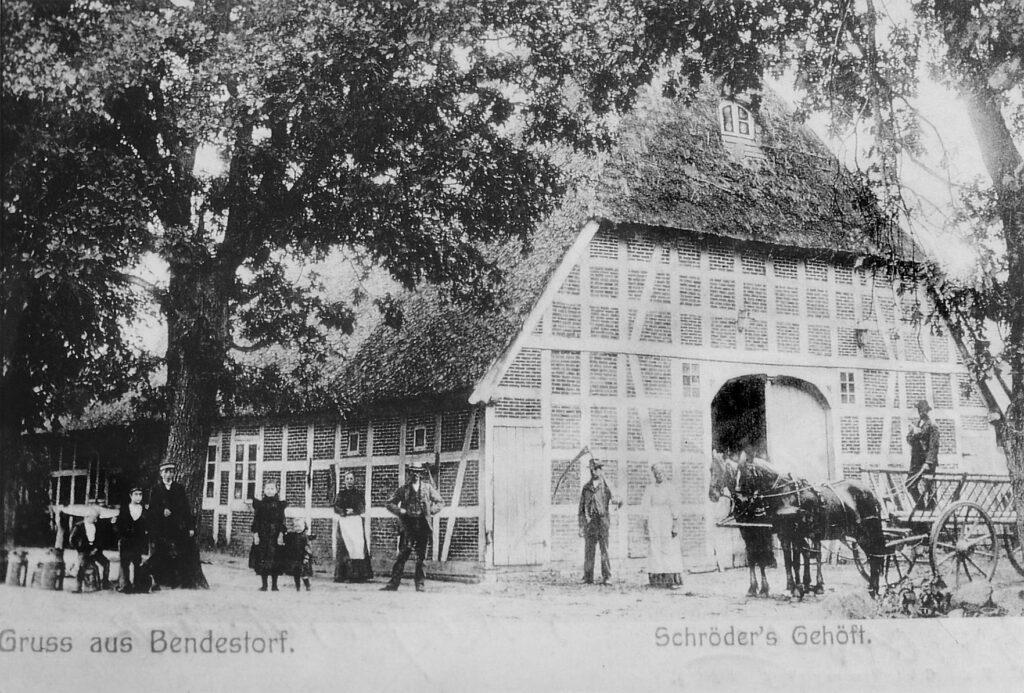 Historische Postkarte, 1915