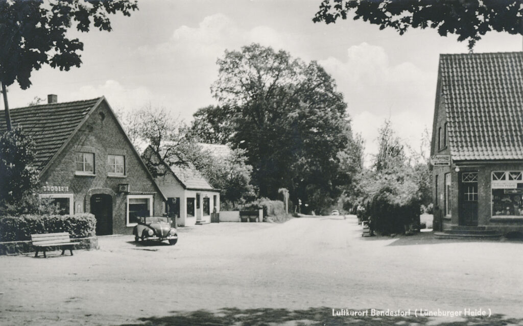 Dorfmitte, 1955
