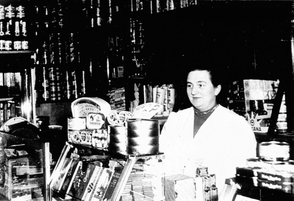 Marie Precht, 1955