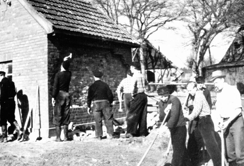 Altes Gerätehaus, Kleckerwaldstr., Umbau 1955