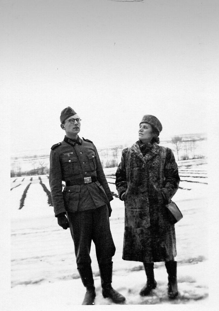 Heinz und Meta Strelow, 1941