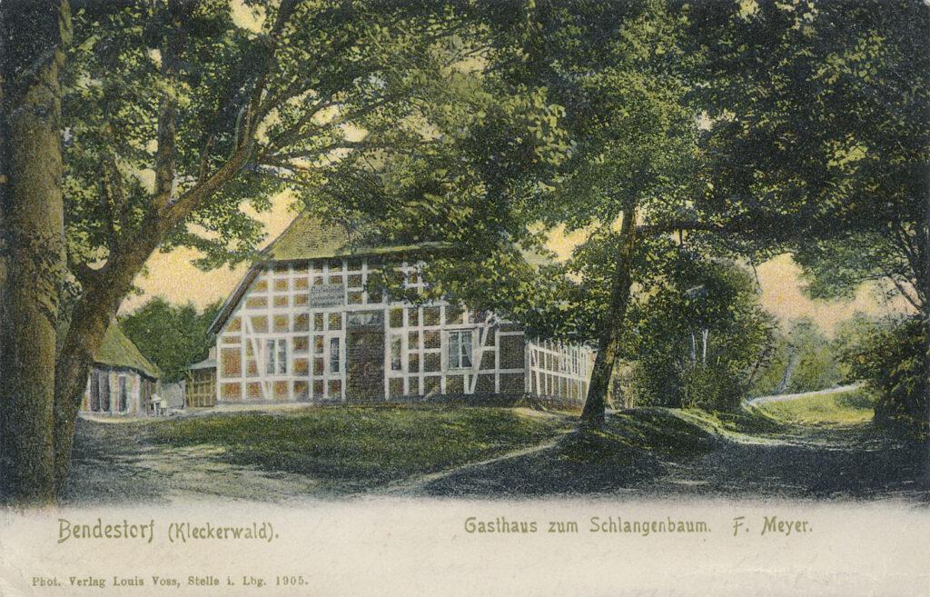 """""""Zum Schlangenbaum"""", 1905"""