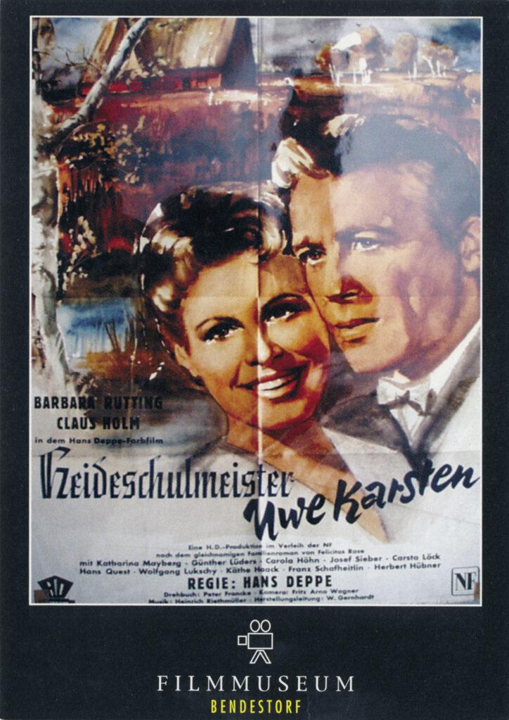 Filmplakat von 1954
