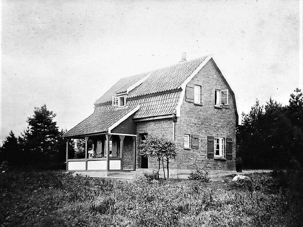 Heidehaus des Lehrers Carl Frerk, 1913