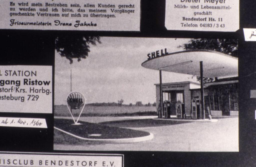 Tankstelle Landestraße, 1960