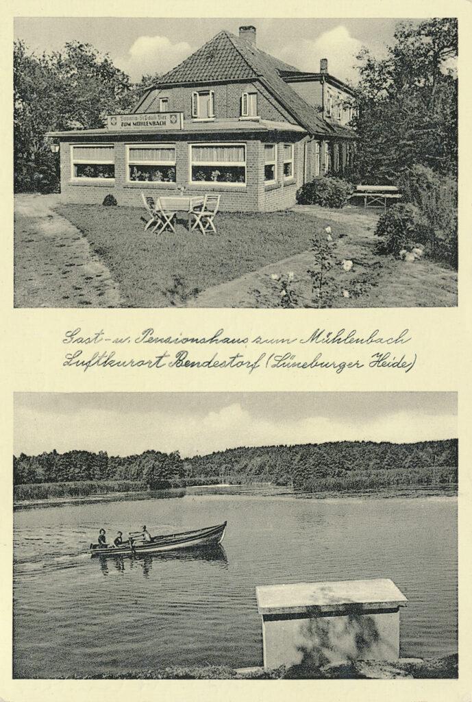 Historische Postkarte, 1950
