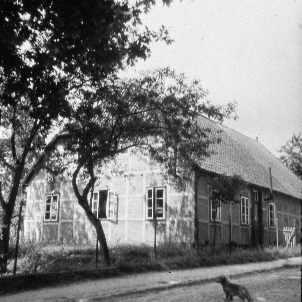 Haus Nr. 25, 1940, ab 1948 Schlachterei Böhrs