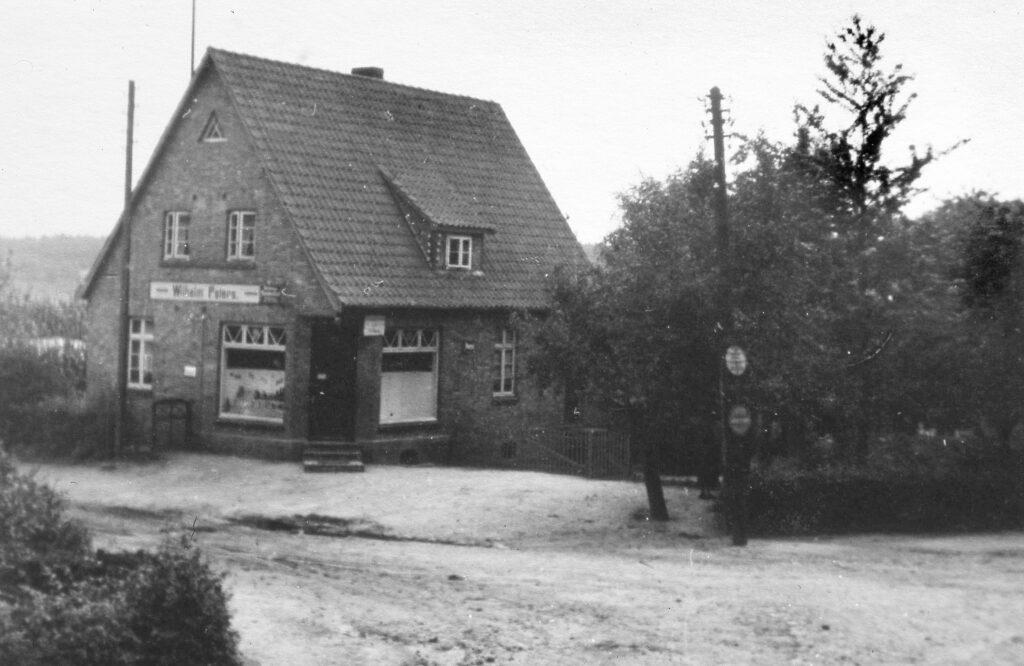 Gemischtwarenladen Peters, 1955